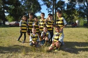 Chicos del Baby Fútbol de Club Atlético Peñarol de Durazno