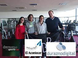 BPU firmó contrato de esponsorización con la deportista María Pía Fernández