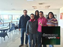 María Pía Fernández entrenó en BPU preparándose para el Panamericano de Canadá