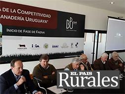 La competitividad de la ganadería uruguaya ahora medida objetivamente