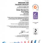 BRC certificate 2014-2015