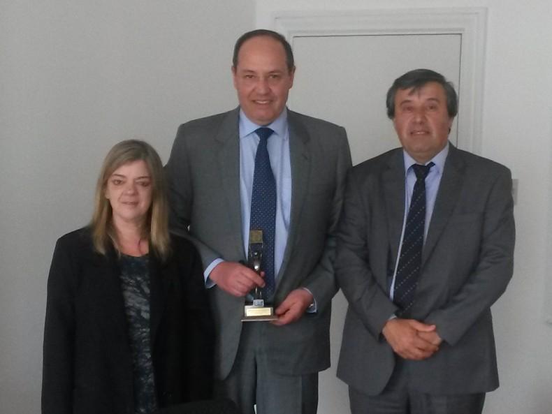 BROU y la Unión de Exportadores del Uruguay premiaron a BPU Meat como mayor exportador del sector cárnico