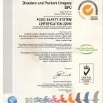 Certificacion FSSC 22000 2015-2016